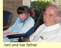 Joni and her father